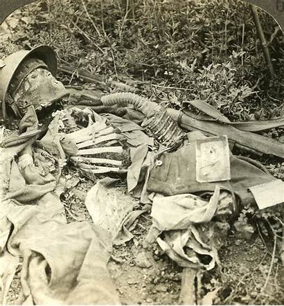 Soldier British War Decomposing Killed Photographic During