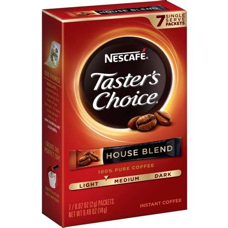 Follow our interactive demo to learn how you can get the great taste you love in a convenient form with folgers classic roast instant coffee single serve packets. Nescafe Taster's Choice Regular Instant Coffee Packets, 7 Ct - Walmart.com