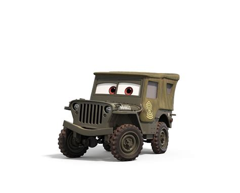 Cars 2 Sarge by Cars 3 Sarge Disney Lineup And Cars