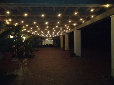 string lighting ideas awesome indoor rope pergolastring