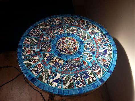mosaic table top kit 122 best mosaic tables images on pinterest mosaic tables