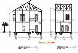 Potongan Denah Rumah 2 Lantai Desain Rumah Desain Rumah Indograha Arsitama Panduan Bangunan Rumah Contoh Desain Rumah DENAH RUMAH Pengertian Denah Tampak Dan Potongan Dalam Arsitektur