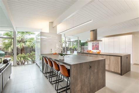 mid century modern kitchen island mid century modern kitchen kitchen midcentury with tile 9166
