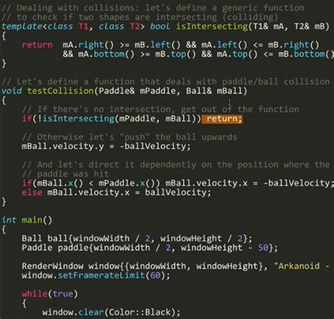 dive   arkanoid clone   lines  code