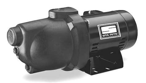 Sta-rite Pnd-10 Shallow Well Jet Pump 3/4hp