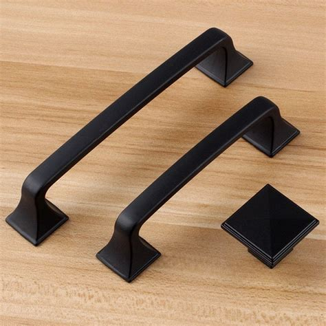 black kitchen cabinet pulls 5 quot 3 75 quot black dresser handle door knob pull knob pulls
