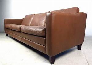 Best 25 modern leather sofa ideas on pinterest tan leather for Mid century style sectional sofa