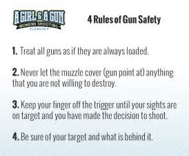 Four Gun Safety Rules