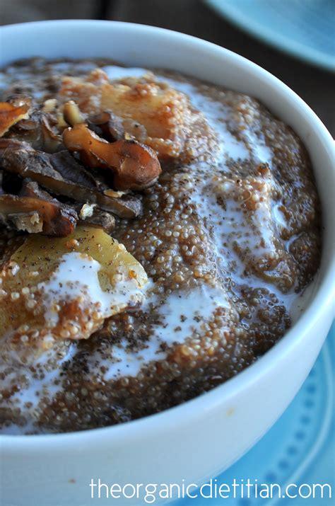 congee crock pot recipe crock pot apple pie amaranth porridge the organic dietitian