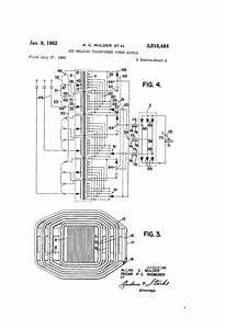 Patent Us3016484 - Arc Welding Transformer Power Supply