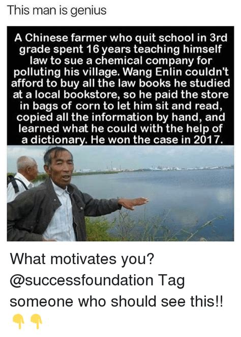 Buy All The Books Meme - this man is genius a chinese farmer who quit school in 3rd grade spent 16 years teaching himself