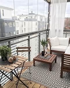 Beautiful, And, Cozy, Apartment, Balcony, Decor, Ideas, 26