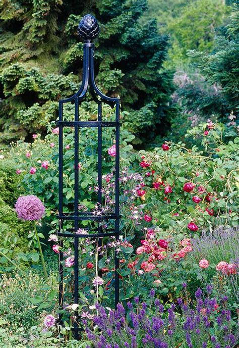 garten rosen obelisk  aus metall vom hersteller  bester