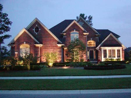 home landscape outdoor garden lighting