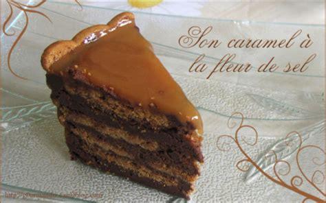 recette charlotte au chocolat speculoos  caramel  la