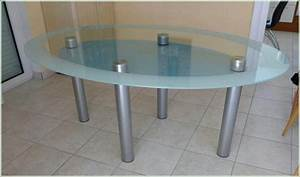 Esstisch Oval Glas : esstisch oval glas hauptdesign ~ Frokenaadalensverden.com Haus und Dekorationen