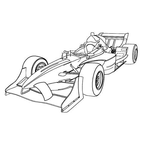 formule  auto kleurplaat kleurplaatjenl