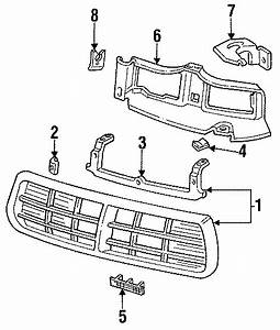 Buick Regal Support Panel  1993