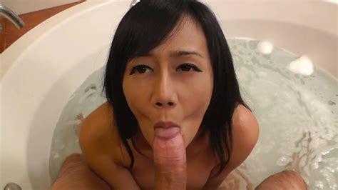 Asian beautiful Tranny in action - PornHugo.Com