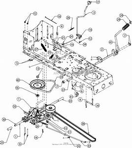 Mtd 13w277ss031  Lt 4200   2016  Parts Diagram For Drive