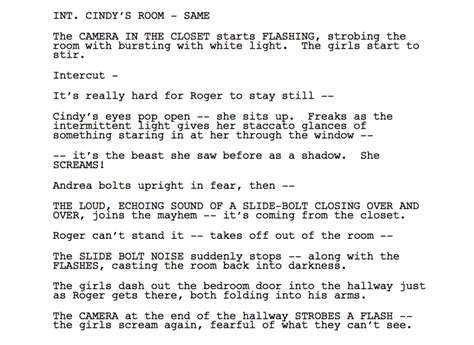 Screenplay Examples From Each Genre