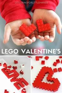 LEGO Heart Valentine's Day STEM Activity for Kids  Valentines
