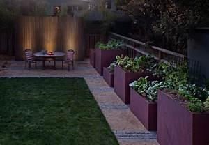 Planter box designs modern landscape contemporary with
