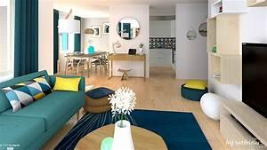 Appartement Contemporain : appartement scandinave contemporain mj int rieurs c t maison ~ Melissatoandfro.com Idées de Décoration