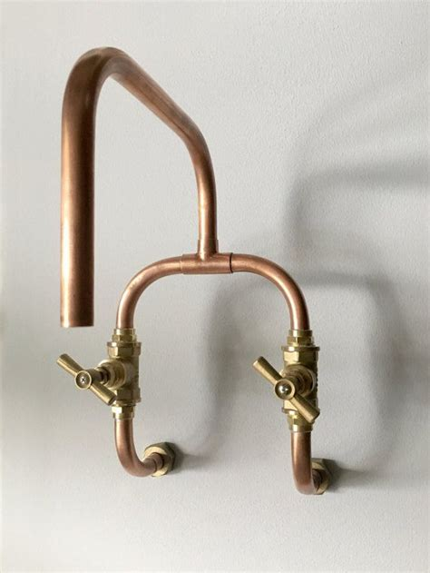 copper kitchen faucet kitchens rotating fitting for copper steunk faucet