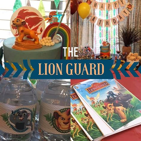 16 Best Lion Guard Birthday Party Images On Pinterest