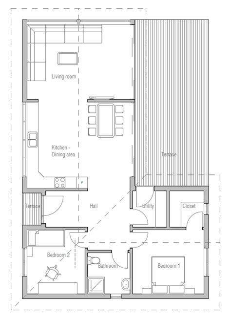 efficient small house plans small house plan with efficient room planning house plan