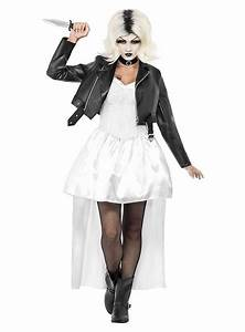 Gruselige Halloween Kostüme : chuckys braut kost m ~ Frokenaadalensverden.com Haus und Dekorationen
