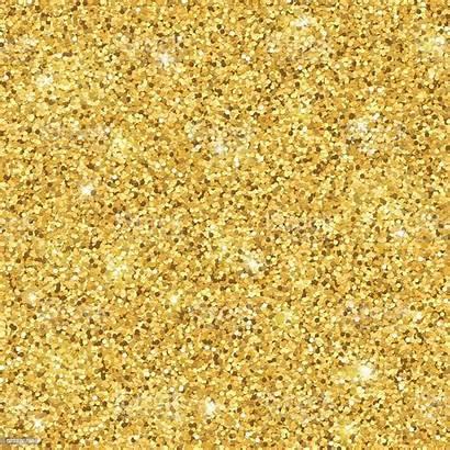 Gold Glitter Pattern Vector Seamless Illustration Bling