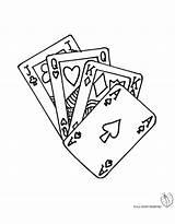Poker Da Colorare Coloring Carte Gioco Disegno Disegni Stampare Pages Per Di Cards Bambini Playing Tattoo Tattoos Gratis Tatoo Easy sketch template