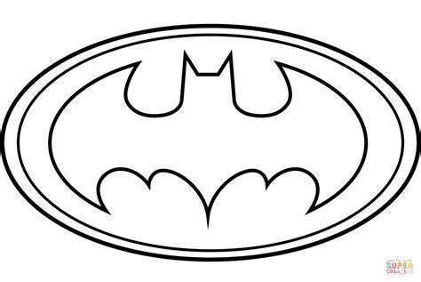 Batman Logo Coloring Page Free Printable Coloring Pages