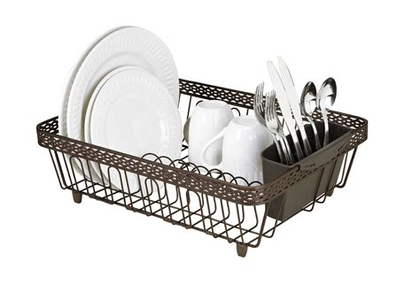 gold kitchen faucet dish drainer tray rubbed bronze dish drainers bronze