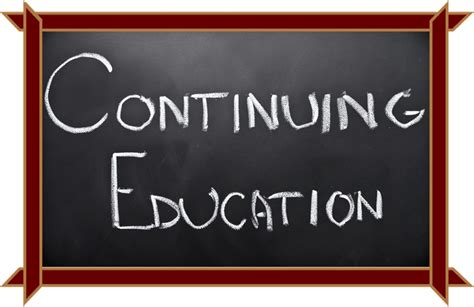 purpose of continuing education courses chainimage