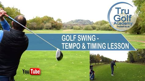 golf swing tempo golf swing tempo timing lesson