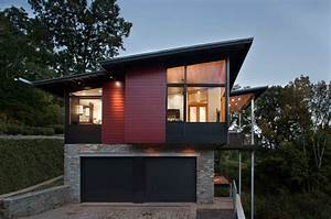 Marvelous Raised Ranch trend Charlotte Contemporary Garage