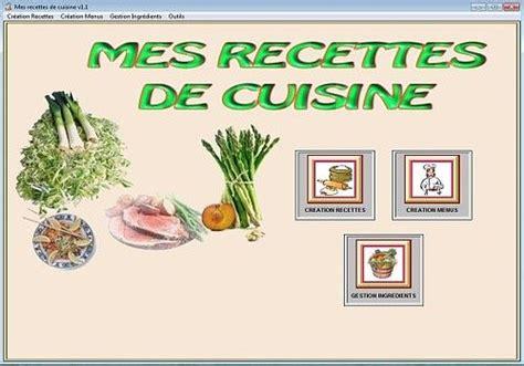 exemple de recette de cuisine télécharger mes recettes de cuisine pour windows shareware