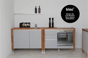 Modulkuchen bloc modulkuche online kaufen kuche for Bloc modulküche