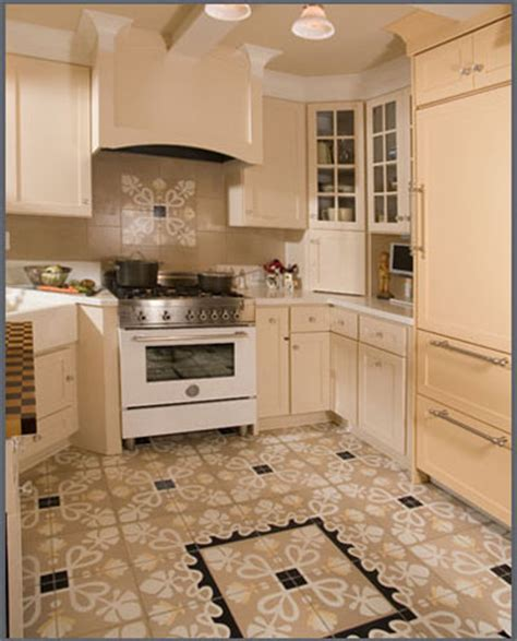 kitchen floor tiles design cement tile desiger s corner villa lagoon tile 4837