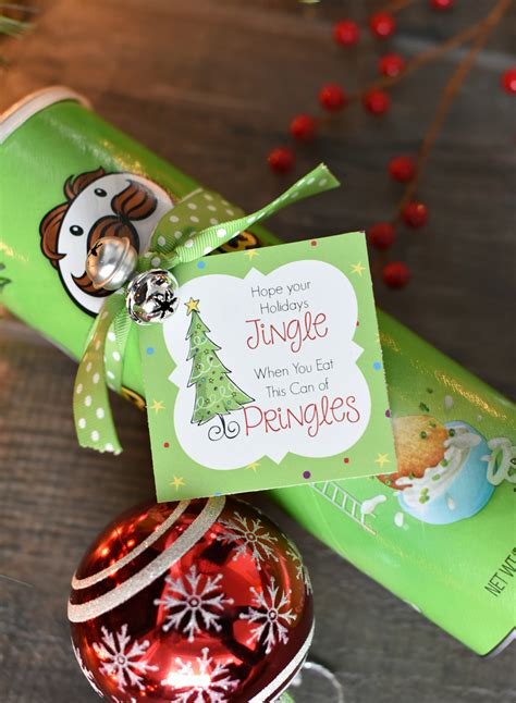 funny christmas gift idea  pringles fun squared