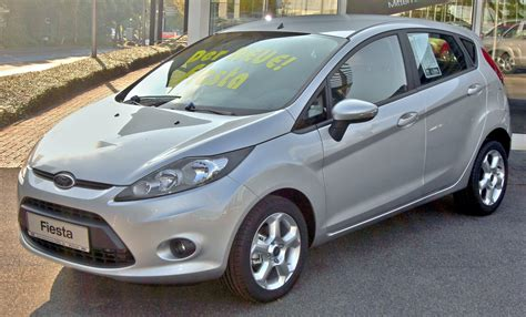 Fileford Fiesta Mk7 2008 Trend Front
