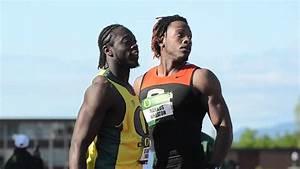 De'Anthony Thomas Runs 100m at Oregon Twilight Meet - YouTube