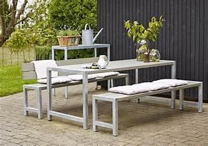 garten im quadrat moderne outdoor sitzgarnitur planken With französischer balkon mit garten sitzgarnitur