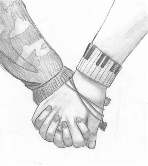 pictures couples holding hands drawings drawings art