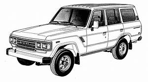 upbeat sitdown print color your own land cruiser With toyota fj cruiser