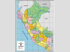 Mapa de Peru Mapa Peru