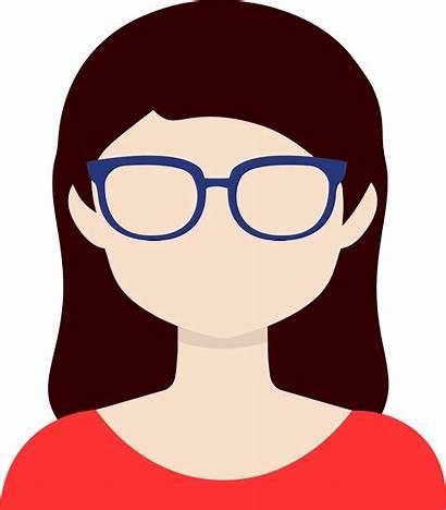 Clipart Woman Eyeglasses Glass Transparent Female Glasses